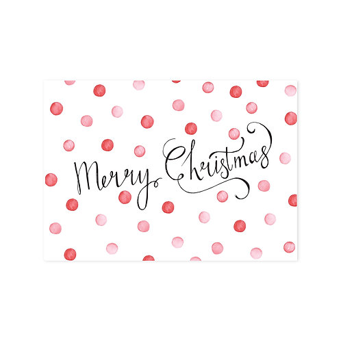 Merry Christmas | A6 | 4 stuks