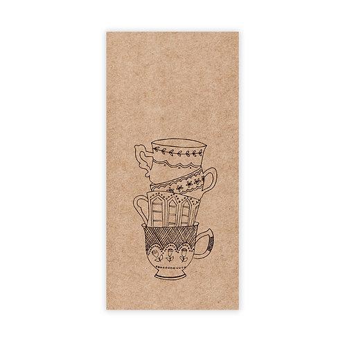 Kraft tea | incl. envelop | 4 stuks