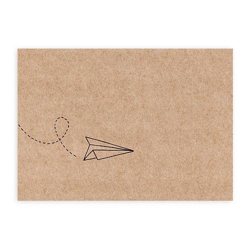 Plane kraftpapier | 2 stuks