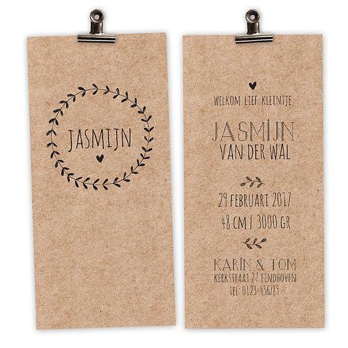 geboortekaartjes Jasmijn
