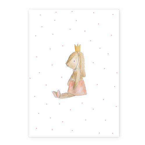 Poster konijn tutu