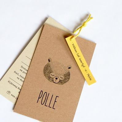 geboortekaartje-beertje-kraftpapier-hand