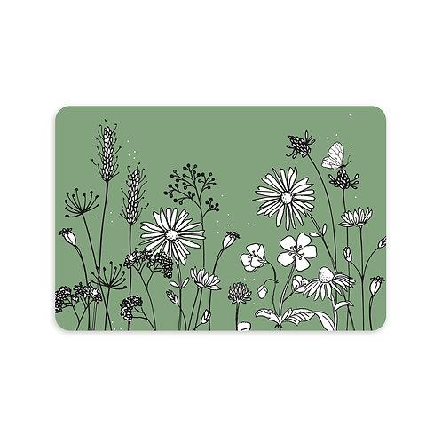 Ansichtkaart 'veldbloemen'
