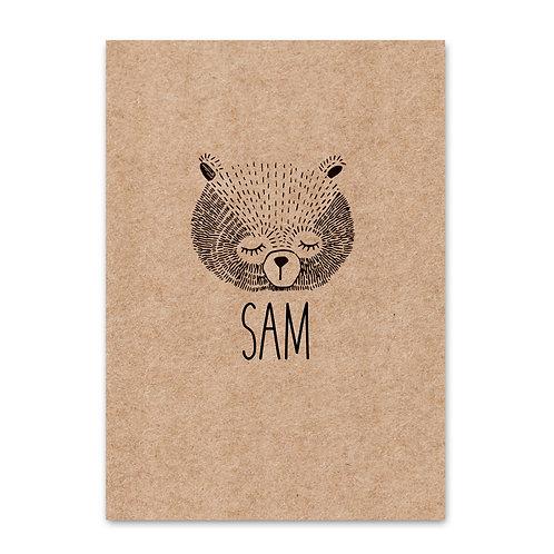 Geboorteposter Sam