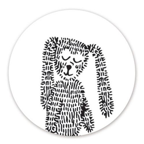 Sluitsticker konijn | 48 stuks