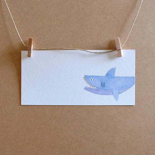 kaart 'haai'