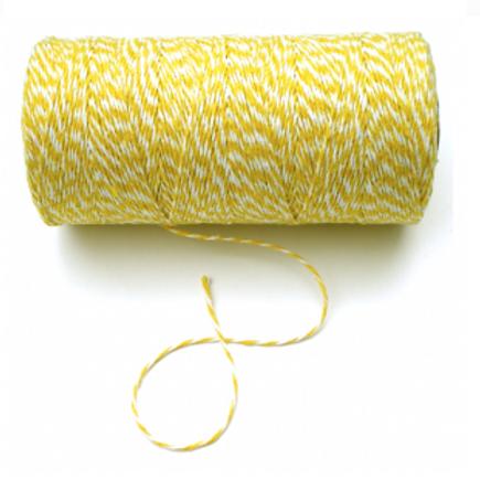 Koord geel-wit