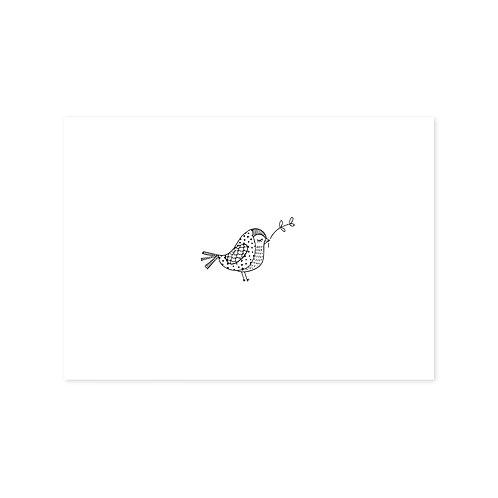 Vogeltje | A6 | 4 stuks