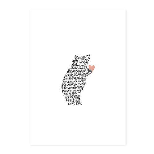 Poster beer hart