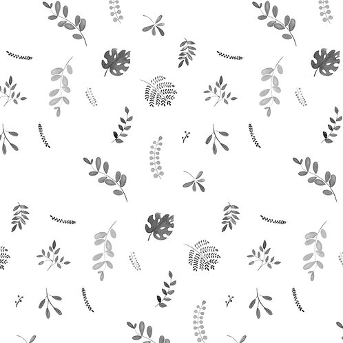 Cadeaupapier bladeren | 5 stuks