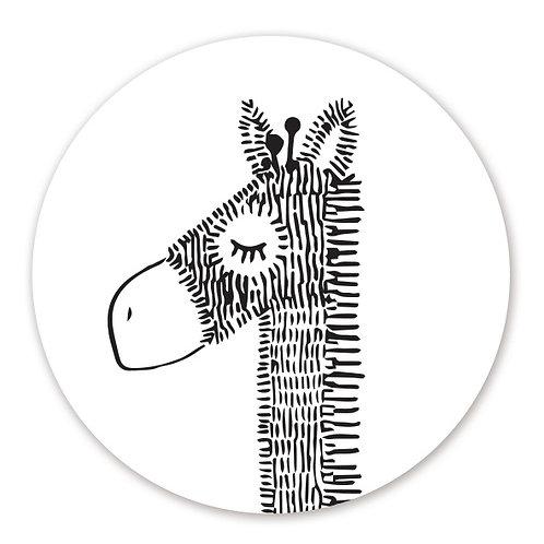 Sluitsticker giraffe | 48 stuks