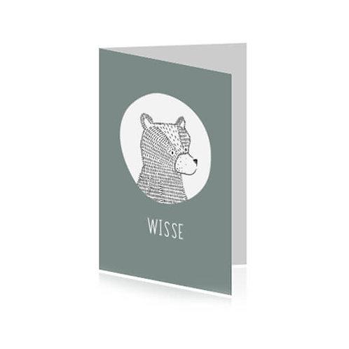 Geboortekaartje Wisse