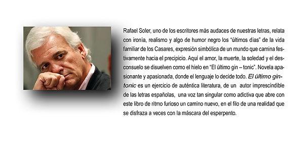 Rafael Soler escritor audaz