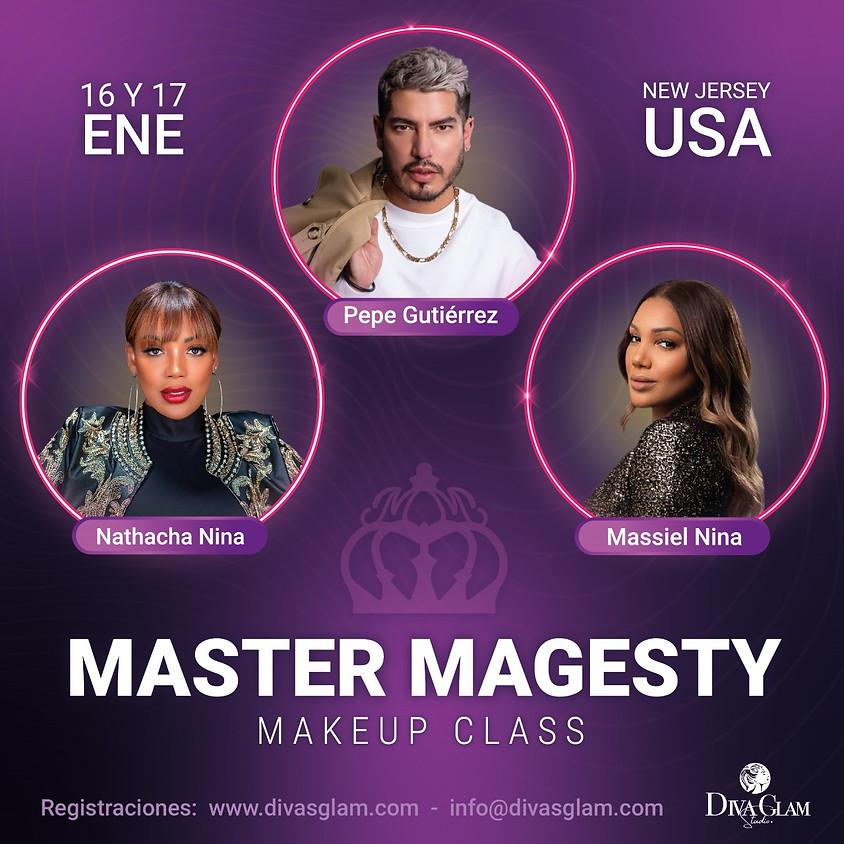 MASTER MAGESTY MAKEUP CLASS