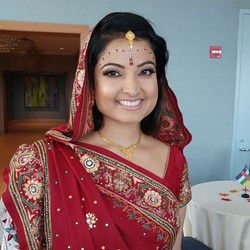 Soft look on my beautiful Indian Bride! 👰🏻❤️💐