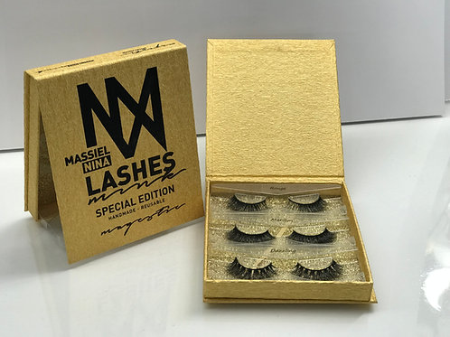 Massiel Nina Magestic Lashes ( set of 3)