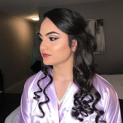 Makeup & Hair on this beautiful princess for her sweet 16!!! 👸🏻❤️
