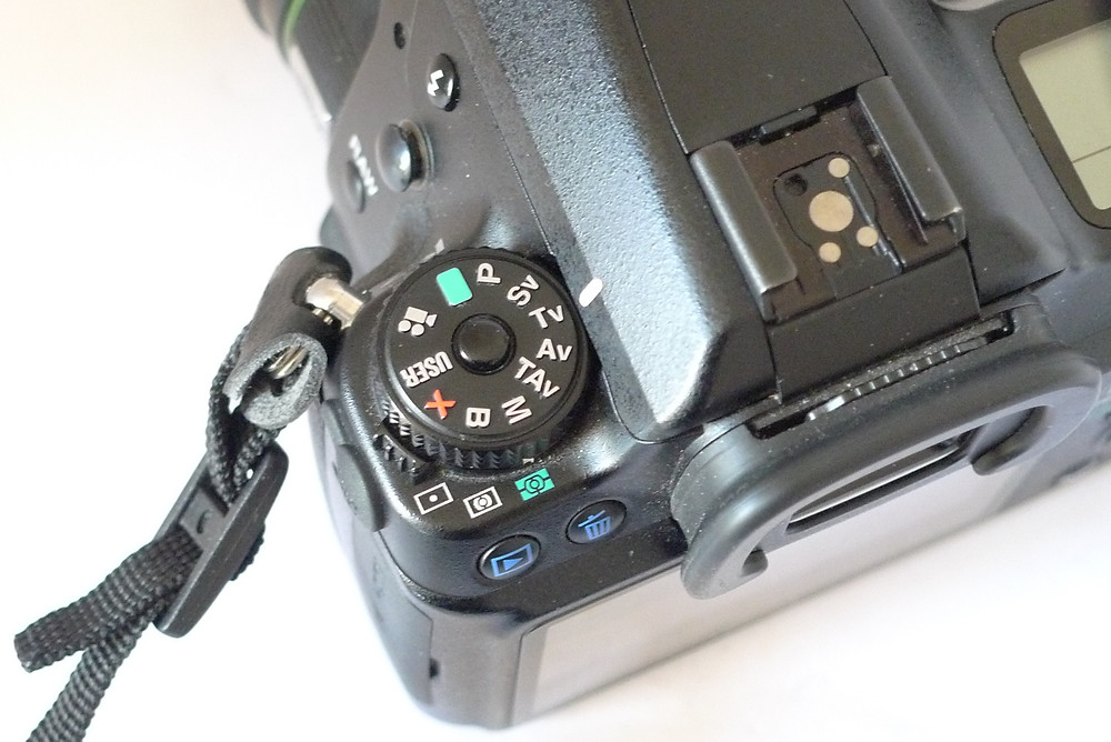 Exposure mode control of Pentax K-7