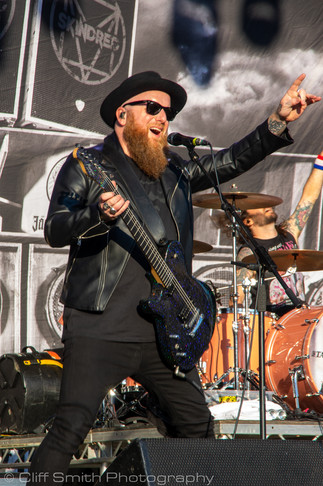 Skindred, Beautiful Days festival, 2021