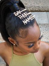 Black Lives Matter Hair Pins