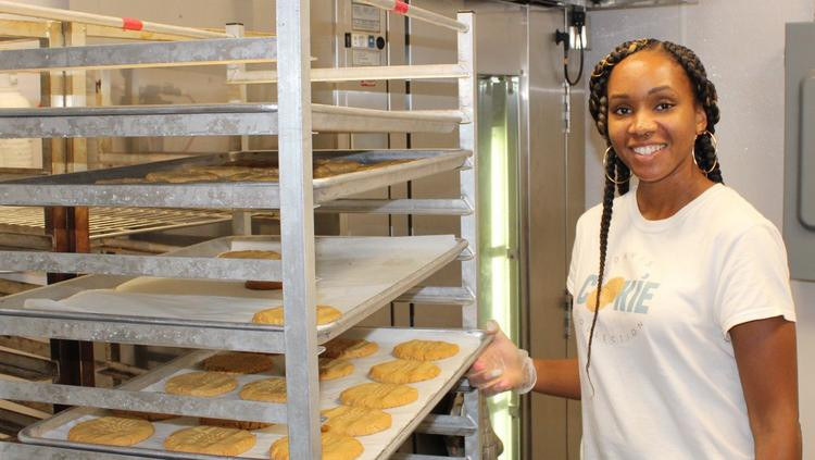 Christina Davis founded the Davis Cookie Collection with her husband, Miles. PROVIDED BY THE PORT