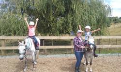 Fun pony session