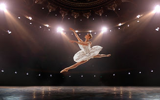 Ballet. Classical ballet performed by a