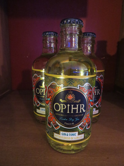 Opihr - Gin & Tonic - Ginger