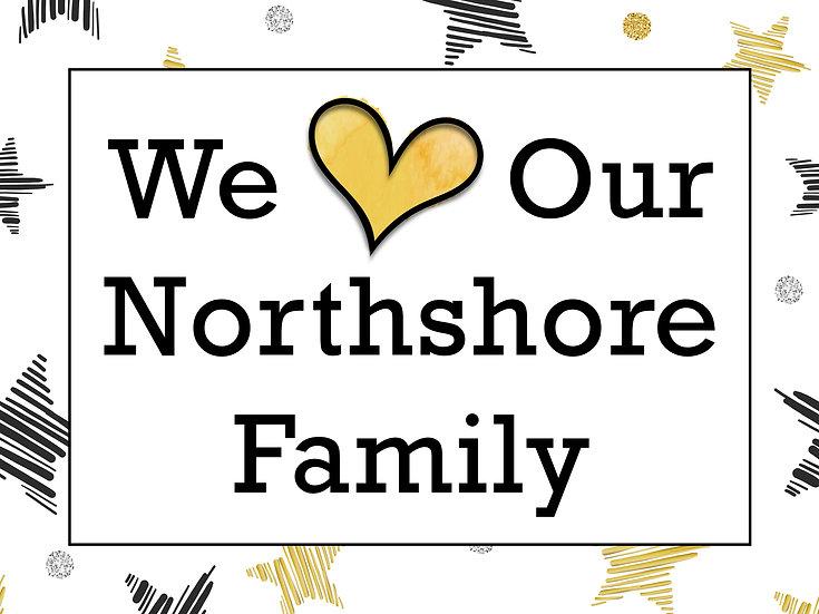 Northshore Yard Sign