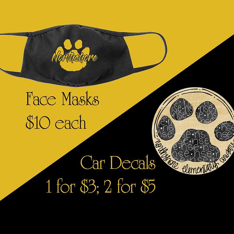 Masks/Decals for Sale
