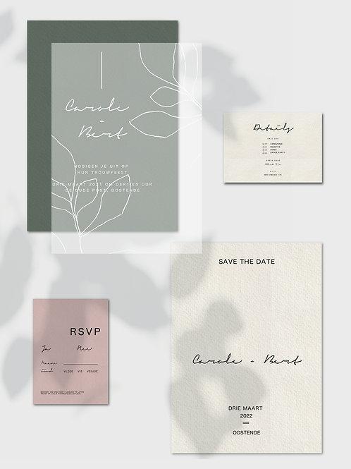 Minimal Wedding Template Bundle