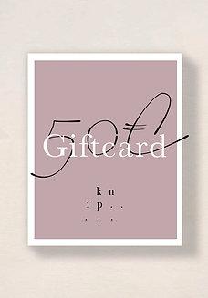 E-GIFTCARD.50€