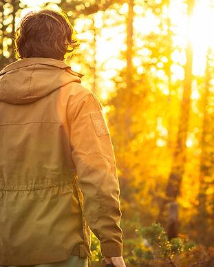 Sonnenuntergang in der Natur