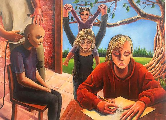 """003 - """"The Progression of Cancer III"""" by Lauren Elder"""