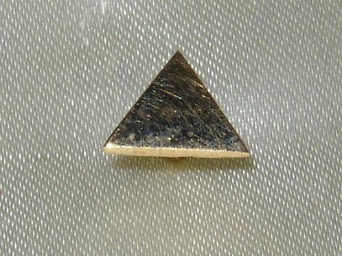 Pin's triangle or jaune