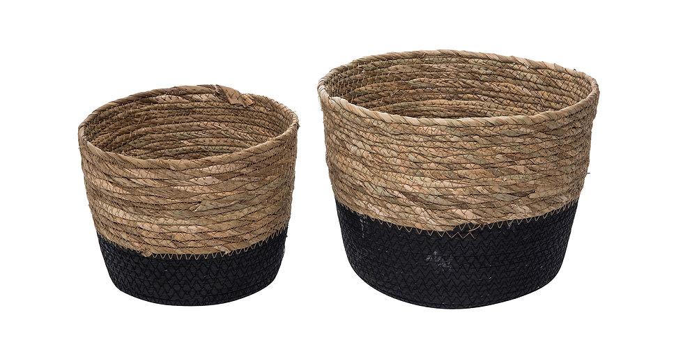 Large Aldis Natural Basket set of 2 large