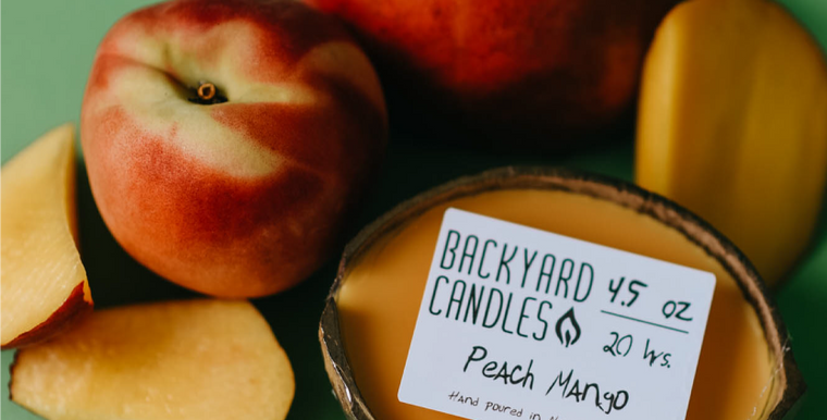 Backyard Candles