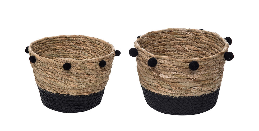 Aldis Natural Baskets set of 2 Small