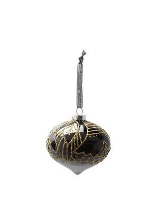 Christmas Ornament Black/Gold | Juldekoration