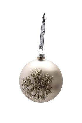Christmas Globe Champagne | Juldekoration