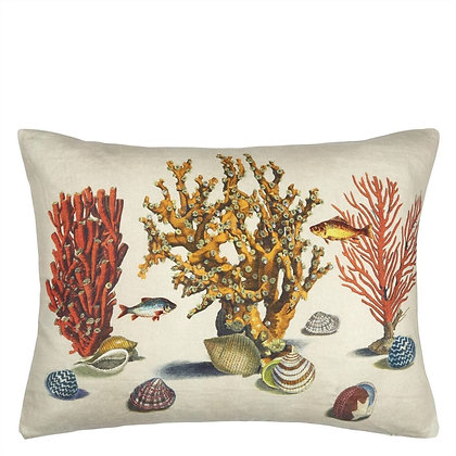 Sea Life Coral | Kudde | John Derian for Designers Guild