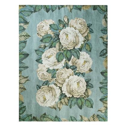 The Rose Swedish Blue | Pläd | Designers Guild