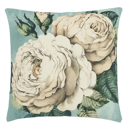 The Rose Swedish Blue | Kudde | John Derian for Designers Guild