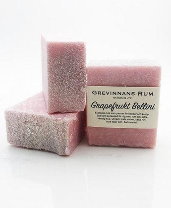 Saltvattentvålen Grapefrukt & Bellini | Fast tvål | Grevinnans Rum