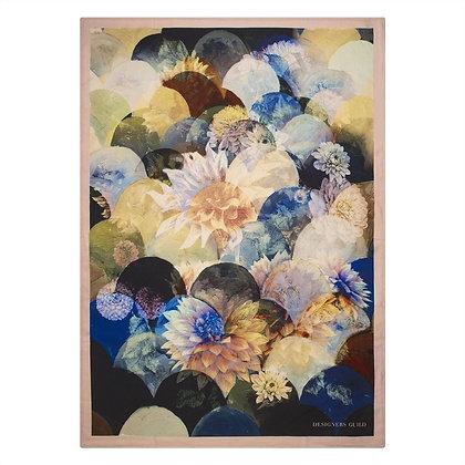 Kyoto Flower Peacock | Pläd | Designers Guild