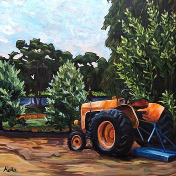 """Oranje"" Tractor Western Australia"