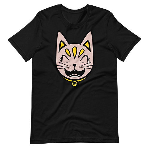 PEACH CAT TEE