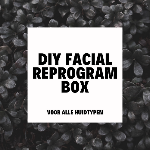 DIY Facial Reprogram Box