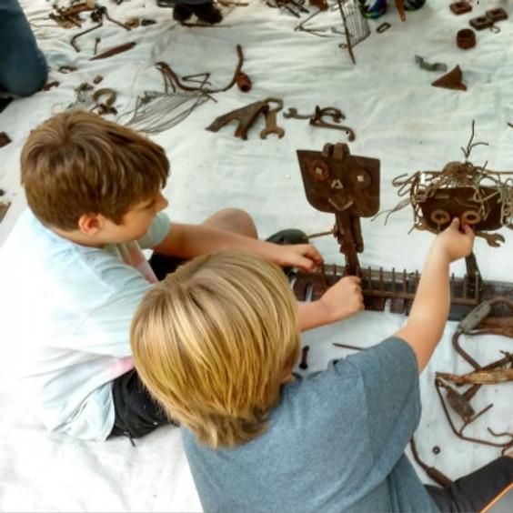 Metal & Magnets – 10 am Sculpture Workshop w/ Madeleine Lord
