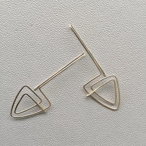 """Sterling Silver """"Reflection"""" Earrings"""
